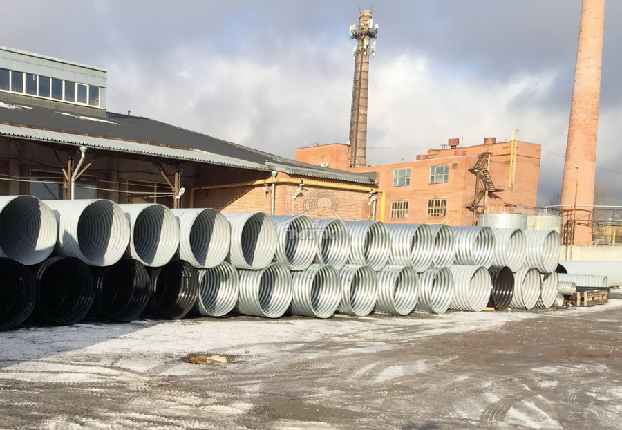 Pipes for M-11 Moscow - Saint Petersburg toll high-speed road, stage 7 2016