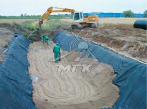 Bed for culverts