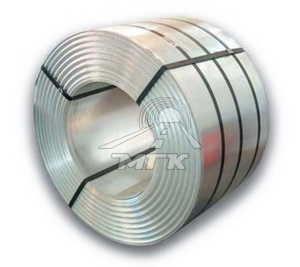 Steel for helically corrugated metal pipes